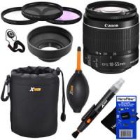 Canon EF-S 18-55mm f/3.5-5.6 IS II SLR Standard Zoom Lens  Dlx Acc Kit