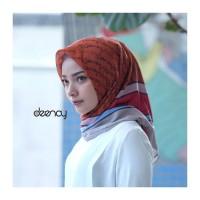 Jual Murah Hijab Printing / Jilbab Segi Empat Deenay - IZORA