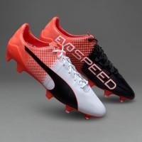 Sepatu Bola PUMA original evoSPEED 1.5 FG Red Blast 10359703 a5402c9d7f