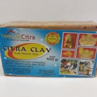 Tanah Liat Siap Pakai 1000 gr | Citra Clay | Tanah Lempung