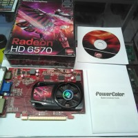 VGA Radeon HD6570 1GB 128 Bit DDR3 PowerColor Bekas Murah