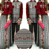 Busana muslim couple/baju muslim couple/gamis couple/baju couple