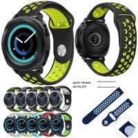Silicone Watch Band Strap 20mm Samsung Gear Sport 2017 R600 & S2 R732