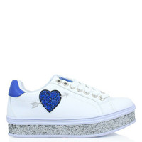 Jual Sepatu Gosh Fashion Wedges Sneakers Love White Blue Murah 2baf14841c