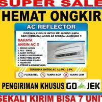 Talang AC/ Acrylic AC 110cm 2 Pk 3 unit+90cm 1 unit