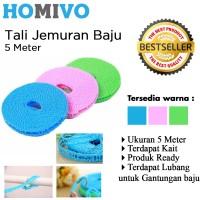 StarHome Tali Jemuran 5 meter Serbaguna - Hanger - Gantungan Baju