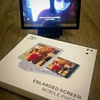 Kaca Pembesar Layar Handphone - HP / Enlarged Screen Moble Phone 3D