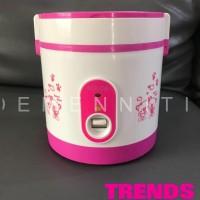 Super Cook Rice cooker Mini BOLDe original - Merah Muda