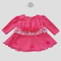 Baju Anak Bayi Perempuan Dress Gaun Pesta Anak Bayi Newborn BB24F
