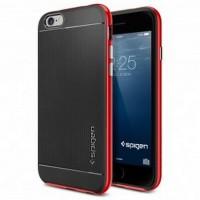 NOOSY Metal Aluminium Bumper Case for iPhone 6 Plus - MF03-6Plus - Blu