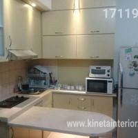 Kitchen set hpl apartment furniture elegant