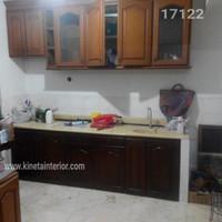 Kitchen set cat melamik n furniture