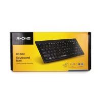 Keyboard Mini USB minimalis untuk komputer laptop dengan Tombol FN
