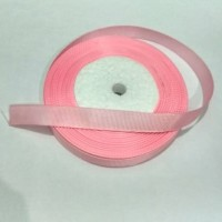 1 Roll Pita Grossgrain/Pota Garis Pita Salur 14mm Pink