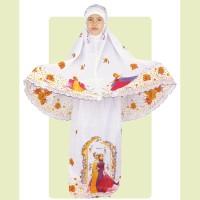 Baju Muslim Anak Perempuan Koko Modern Terbaru Gamis Pakistan Putih