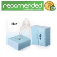 Kotak Penyimpanan Perhiasan Magnetik - Biru