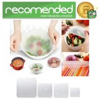 Silicone Stretch Fresh Food Cling Film Protection / Silikon Pelindung