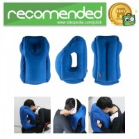Bantal Travel Inflateable Body Back Support - Biru