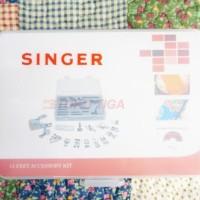 Dijual Sepatu Mesin Jahit Portable 15 Pcs Merk Singer (Original