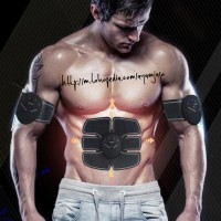 Alat Terapi Otot Six Pack Electronic Muscle Stimulator Abdominal EMS
