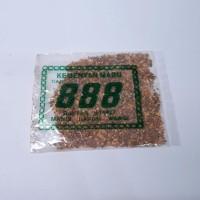 Harga kemenyan madu bubuk cap 888 untuk campuran rokok 1pcs   Hargalu.com