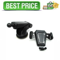 Car Holder Smartphone Automobile - Hitam