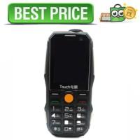 Touch Handphone Dual SIM Multifungsi Power Bank - Hitam