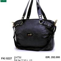Tas Handbag Kasual  Wanita  hitam Garsel FKI 5227 ori original murah