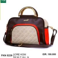 Tas Handbag Kasual  Wanita  krem Garsel FKN 5229 ori original murah