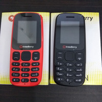 hp strawberry corn murah , dual kartu sim,senter,memory, mirip nokia