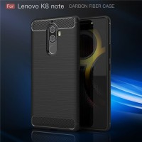 CASE LENOVO K8 NOTE Softcase carbon Fiber
