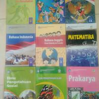 Paket Kurikulum 2013 kelas 9 SMP/MTs (9 buku), Dikbud