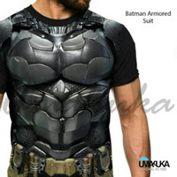 Jual Kaos Premium Spandex Superhero Batman SH533 Murah