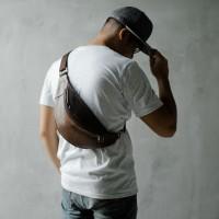 The Daily Smith - BRONX Bum Bag / waist bag / sling bag / tas kulit