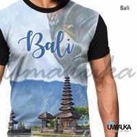 Kaos Fullprint umakuka Bali-kaos polos blkg-kaos lengan panjang