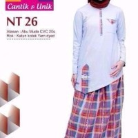 EKSLUSIF Model Baju Muslim Anak Nibras NT 26 Abu ORIGINAL