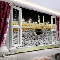 TERMURAH dan HIGH QUALITY Wallpaper Custom Printing Tema MEKKAH