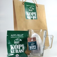 Jual Kopi Celup Robusta Lampung isi 10 plus gula sachet - Kopikurasi Murah