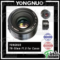 Jual Lensa Yongnuo YN 50mm f/1.8 For Canon EF , Lensa Fix 50mm Murah