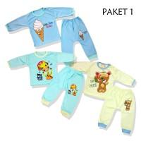Pakaian Bayi/ Lengan Panjang/ Murah Berkualitas untuk umur 6-12 Bulan