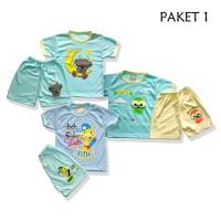 Pakaian Bayi untuk 6 Bulan ke atas, 1 Set isi 3 Pcs Uk All Size