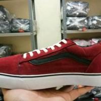 New Sepatu Casual Sekolah Vans Oldskool Man Untuk Pria Cowo Cowok Laki