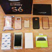 Samsung Galaxy S6 Edge 64GB ORI SEIN second ex wanita MULUS ++ BONUS