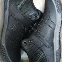 Sepatu Sekolah Hitam Full Ando Virtue Sepatu Sekolah Anak Sd Smp Boot
