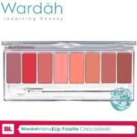 Lip Palette ChocoAholic - Wardah Lipstik ilf