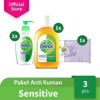 Dettol Paket Anti Kuman Sensitive