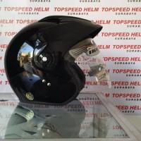 helm ink klasik cx390 hitam BEST QUALITY