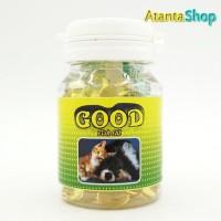 Good - Fish Oil 100 chewable tablets untuk anjing dan kucing