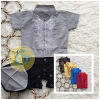 Baju Muslim Anak NEWBORN Romper Koko Jumper Bayi Baju Muslim Anak
