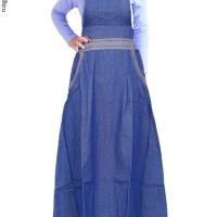 Baju Muslim Anak gamis anak over all jeans
